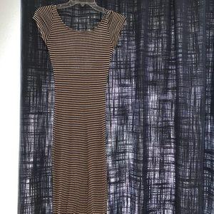 Zara midi dress small bodycon